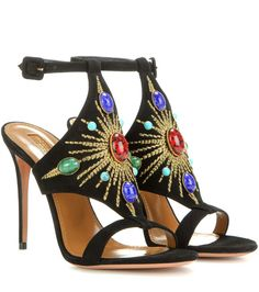 6a2ed599d SUMMER - BLUE - Sandals. See more. Desert Sun 105 multicoloured embellished  suede sandals Suede Sandals