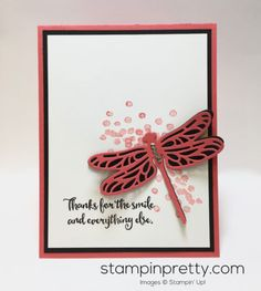 Dragonfly Dreams Photopolymer Stamp Set & Detailed Dragonfly Thinlits Dies Stampin Up
