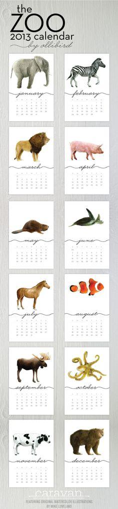 //printable calendar