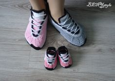 Converse Slippers, Gray Converse, Crochet Converse, Women Slippers, Nike Sneakers Slippers, Crochet Women Shoes,Knit Slippers, Pink Converse by WEDDINGboutigue on Etsy