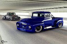 ♥  '56 F100's