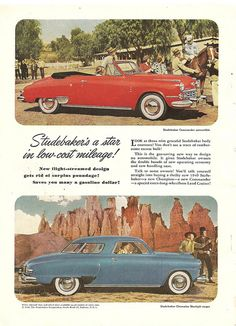 studebaker car ads | 1949 studebaker car ad | Flickr - Photo Sharing!