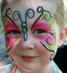 party face painting - Google Search