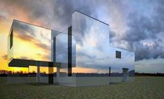 the house of mirrors photo Zaha Hadid, Mirror House, Creators Project, Optical Illusions, Innovation Design, Modern Architecture, Nashville, Costa, Trippy