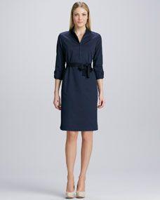 Tinka Front-Zip Dress