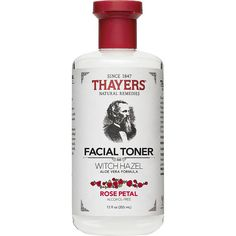 Experience wonderfully clean skin with Thayers Witch Hazel Alcohol-Free Toner. This natural cucumber toner helps to combat oily skin and tightens pores. With organic witch hazel and aloe vera, this product is kind to your skin and encourages it to look it Toner For Face, Facial Toner, Facial Wash, Skin Toner, Witch Hazel Astringent, Thayers Witch Hazel Toner, Organic Witch Hazel, Witch Hazel Uses, Beauty Hacks For Teens