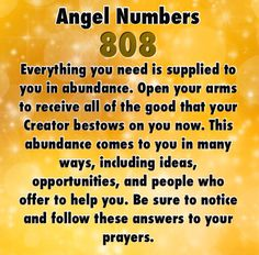 Numerology: Number 808 Meaning | #numerology