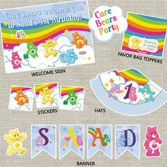 Hey, I found this really awesome Etsy listing at https://www.etsy.com/listing/123014496/care-bears-party-pack-printable