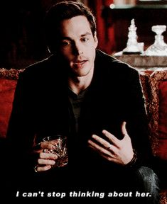 "The Vampire Diaries ... Chris Wood as Kai Parker ... ""I can't stop thinking about her."""