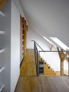 ロフトハウスの上階の渡り廊下