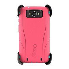 Otterbox Motorola Droid Turbo Defender Case - Teal Rose II