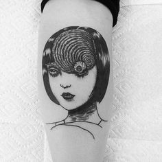 postapocalypticbabe:  Finally got my #Uzumaki tattoo done...