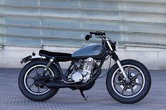Beautiful Yamaha SR500 Brat Style by Cafe Racer SSpirit #motorcycles #bratstyle #yamaha | caferacerpasion.com