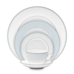 Waterford® Monique Lhuillier Lily of the Valley Dinnerware Collection - BedBathandBeyond.com