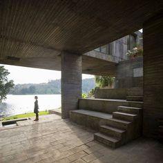 균형잡힌 천재성과 심플한 디자인의 개인주택-[ Pezo von Ellrichshausen ] The Perfect Balance of Guna House :: 5osA: [오사]