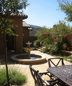 Other side of the garden with a beautiful view - mediterranean landscape by Arterra LLP Landscape Architects