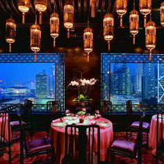 Mandarin Oriental hotels,Dining Room-Hong Kong-The finest in 21st century Luxury for TravellersOriental