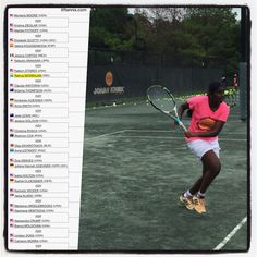 """ITF 10K Charleston SC update: 16-year-old Ramya Natarajan (IND) beats 18-year-old Claudia Wiktorin (USA) 6:3 6:1 in her first round qualification match, which was also Ramya's first  10K ITF match ever. """"Ramya hit at least 10 clean winners on the backhand side and 12 on the forehand! Fantastic play, very impressive!"""" said Brenton after the match. #RamyaNatarajan #ITF #ITFProCircuit #JohanKriekTennisAcademy #JKTA #JKTAteam #WTA #tennis"""