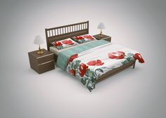 Bed Linen & Bedding Sets Mockup (2)