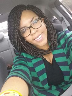 box braid bob