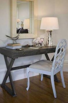 Image result for limed oak and white desk