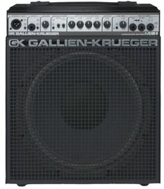 I've always liked these and they are as small as they look! Super cute, but with a massive sound - Gallien-Krueger - MB150S-112 - 150watt 1x12'' Bass Combo