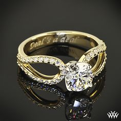 Infinity Diamond Engagement Ring with 0.762ct A CUT ABOVE