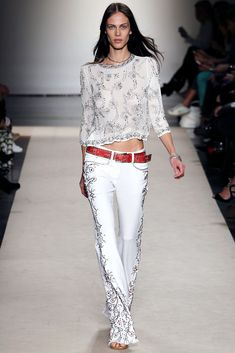 Isabel Marant Spring 2013 Ready-to-Wear Fashion Show - Aymeline Valade (Viva)