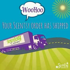 Thank you for you order! WooHoo, It's arrived! http://lisacorthell.scentsy.us