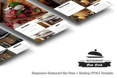 NEW YORK - One Page HTML5 Template by jwizard store on @Graphicsauthor