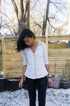 A Camas blouse sewn by Lola of Love, Lola