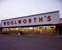 Woolworth's. I'm old enough to remember shopping here with my mother.