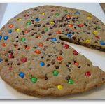 M&M Giant Chocolate Chip Cookie Cake   Print   Key Ingredient