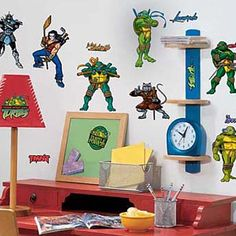 Wall decals for boys room