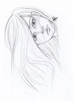 Animal lover - Sketching by Sarah Saiyara in Line art at touchtalent