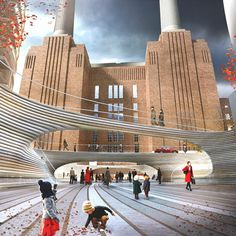 BIG's public square for Battersea Power Station unveiled dezeen.com