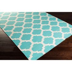 Hand Woven Taylor Moroccan Trellis Geometric Flatweave Wool Rug (2' x 3')   Overstock.com Shopping - The Best Deals on Accent Rugs ~$40