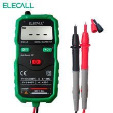 Non-Contact Mini DC AC Voltage Current Tester Digital Multimeter With NCV &Torch light EM33A(China (Mainland))