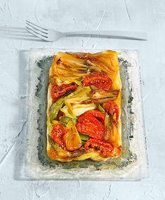 Tarta tatin de verduras – Delicooks | Good Food Good Life