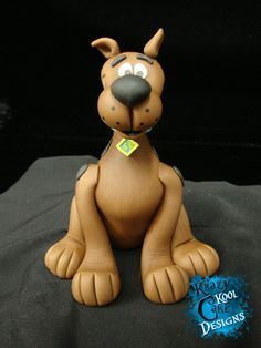 Scooby Doo Cake Topper, via Etsy.