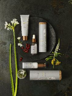 Organic, all-natural beauty products, the Amala Brighten Collection