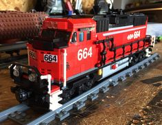 Lego GP60 Locomotive