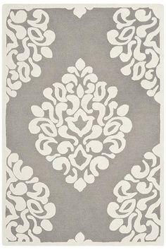 Martha Stewart Living Floret Damask Area Rug Wool Rugs Hand Tufted Rugs