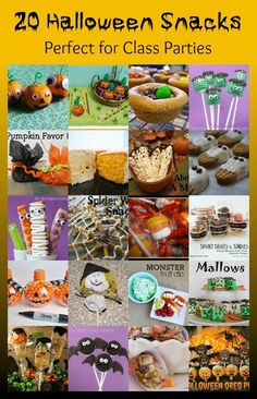 20 Halloween Snacks Perfect for Class Parties
