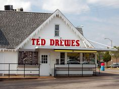 Ted Drewes. Best frozen custard in the world. yummy! If your ever in the STL gotta stop by and get custard