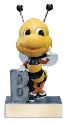 Spelling bee trophy.  Bobble Head. Very cute