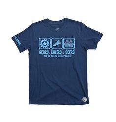 Dean Carratt's RTCC Fundraising T-shirt for OVCARE!