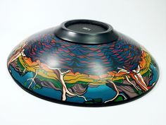 Billabong polymer clay bowl by Wendy Jorre de St Jorre | Flickr - Photo Sharing!