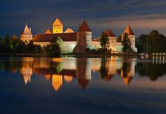 Trakai town Lithuania   Lithuania Travel Guide