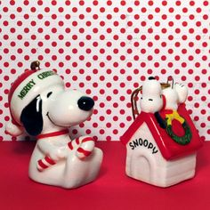 For Sale – Snoopy Christmas Ornaments – No Christmas tree can have too many Snoopy ornaments! Add a few more to your holiday decorations with these perennial favorites from Determined Productions, available in our shop at CollectPeanuts.com!